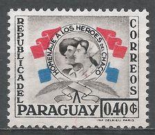Paraguay 1957. Scott #514 (M) Nurse And Soldier - Paraguay