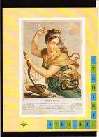 """Publicité Pharmaceutique Laboratoires Wyeth Byla / Calendrier Républicain Ou Révolutionaire """" Frimaire """" - Calendriers"""