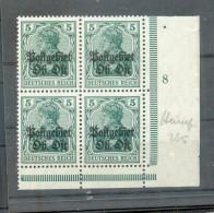 Ober-Ost 3a Plnr PLATTENNUMMER 8**POSTFRISCH (R6808 - Bezetting 1914-18