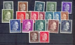 Ostland 1-20 SATZ**POSTFRISCH (75005 - Bezetting 1938-45