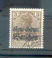 Polen 7b FARBE Gest. 30EUR (R1153 - Occupation 1914-18