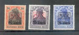 Rumänien 1-3 SATZ**POSTFRISCH (74970 - Besetzungen 1914-18