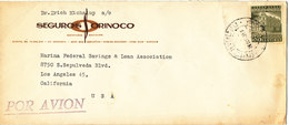 Venezuela Cover Sent Air Mail To USA 29-10-1963 ?? Single Franked - Venezuela