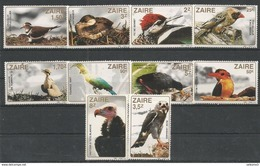 ZAIRE - MNH - Animals - Birds - Nature - Oiseaux