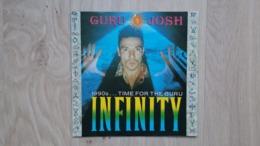 Guru Josh - Infinity (1990's...Time For The Guru) - Vinyl-Single - Top Erhalten - Dance, Techno & House