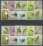 MANAMA - MNH - Animals - Birds -  Perf. + Imperf. - Oiseaux