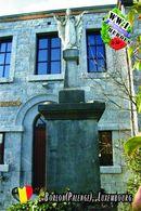 Carte Postale, Militaria, Monuments, World War I Monuments, Belgium (Luxembourg), Borlon (Palenge) - Monuments Aux Morts