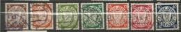 Danzig 1938 Coat Of Arms Watermark 5 3 - 40 Pfg Cancelled O - Danzig