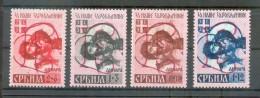 Serbien 54/57AIV SATZ **POSTFRISCH 350EUR (A3455 - Occupation 1938-45