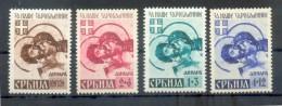Serbien 62/65 SATZ**POSTFRISCH (71037 - Occupation 1938-45