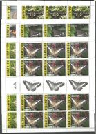 12x NIUAFO'OU - MNH - Animals - Insects - Butterflies 2015 - 2016 - Papillons