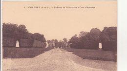 CPA -  9. CHAUSSY - Château De Villarceaux, Cour D'honneur - Francia