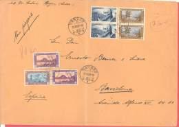 Schweiz  Michel # 235 - 38  Paare - Lettres & Documents