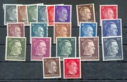 Ukraine 1-20 SATZ**POSTFRISCH (75006 - Bezetting 1938-45