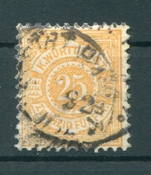 Württemberg 57B FARBE Gest. BPP 200EUR (Z7608 - Wuerttemberg