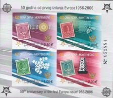 Montenegro 50 Years Of CEPT MNH Imperforated SS - 2005