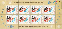 Albania 50 Years Of CEPT MNH Sheetlets And SS - 2005