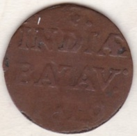 SUMATRA, Netherlands East Indies .1/2 Stuiver 1819 G  , Copper, KM# 283 - Indonésie