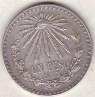 Mexico . 1 Peso 1933 . Argent. KM# 455 - Mexique