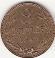 Guernsey Coin 8 Double 1947 - Guernsey