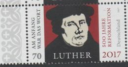 GERMANY, 2017, MNH, JOINT ISSUE WITH BRAZIL, REFORMATION, CHRISTIANITY, RELIGION, LUTHER, 1v - Joint Issues
