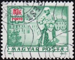 HUNGARY - Scott #J275 Mailman On Motorcycle (*) / Used Stamp - Motorbikes