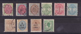 ANTILLES DANOISES  10 TIMBRES  BONNE QUALITE  COTE: 283 EUROS - Denmark (West Indies)