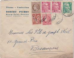 Enveloppe Commerciale 1949 / Robert PICHON / Confection / 73 Bourg Saint Maurice / Savoie - Maps