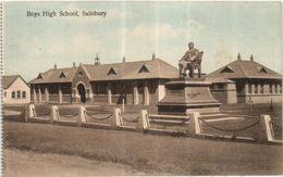 RHODESIA - SALISBURY - BOYS HIGH SCHOOL ( NOW ZIMBABWE ) - Zimbabwe