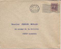 1917 Pro Juventute 3 Centimes LA VALAISANNE, DIE WALLISERIN, Lettre De Genève 7 Février 1918 Pour Petit-Saconnex - Pro Juventute