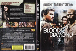 DVD BLOOD DIAMOND  Etat: TTB Port 110 Gr Ou 30gr - Action, Adventure