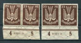 DR-Infla 265 HAN Zwei Versch.HAN**POSTFRISCH (B0482 - Duitsland