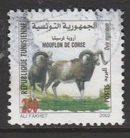 Tunisia 2002 Fauna Of Zembra And Zembretta National Park 250m Multicolor SW 1525 O USED - Tunisia