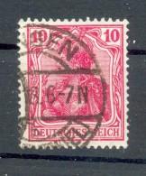 DR-Germania 86IId FARBE Gest. BPP 110EUR (G8002 - Deutschland