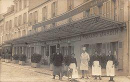 MEULAN - Hôtel De La Grande Pinte - Café Restaurant - Carte Photo - Meulan
