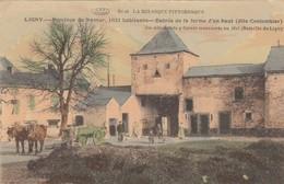 La Belgique Pittoresque. Ligny. Entrée De La Ferme D'en Haut - Feldpost - Houyet
