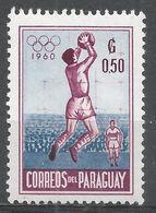 Paraguay 1960. Scott #557 (MNH) Goalkeeper Catching Soccer Ball - Paraguay