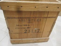 Caisse Explosif Ablonite E1 - Armi Da Collezione