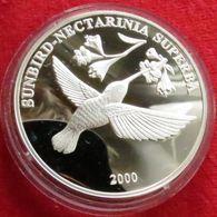 Congo 10 Francs 2000 Bird - Congo (République Démocratique 1998)