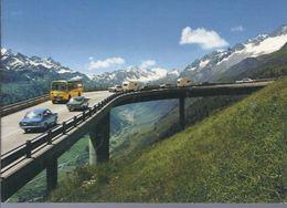Gotthard Pass - Verbindung Wallis U Graubünden      - **AK93552** - LU Lucerne