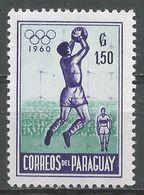 Paraguay 1960. Scott #559 (MNH) Goalkeeper Catching Soccer Ball - Paraguay