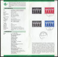 Belgium 1984 / Europa CEPT / Prospectus, Leaflet, Brochure With Stamps - Europa-CEPT