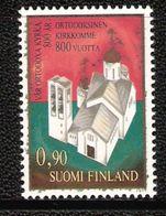 Finland 1977 800 Years Orthodox Church In Finland, New Main Church Of The Monastery Valamo Near Heinävesi Mi 811 MNH(**) - Finlande
