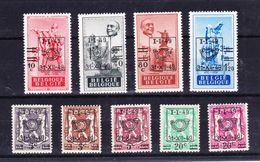 België Kleine Verzameling 1949  Nr 798/806 **, Zeer Mooi Lot Krt 3857 - Timbres