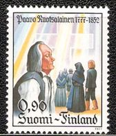 Finland 1977 200th Birthday Of Paavo Ruotsalainen, Lay Leader Of Pietism In Finland; People In Front Of C Mi 812 MNH(**) - Finlande