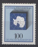 Allemagne Rep.Fed. 1981  Mi.:nr. 1117  20.Jahre Antarktis-Vertrag  Neuf Sans Charniere / Mnh / Postfris - [7] République Fédérale