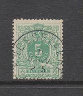 COB 45 Oblitéré KNESSELAERE Catalogue COBA +10 - 1869-1888 Lion Couché