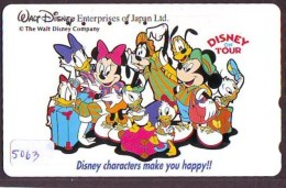 Télécarte  * DISNEY * Japon (110-161110) DISNEY ON TOUR  (5063) * JAPAN PHONECARD * - Disney