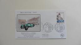 France : FDC : 1 Er Jour : Mulhouse : Bugatti Type 41 :  2003   :  N° 3576 : 1 Enveloppe - FDC