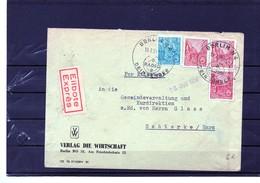 Timbre :  Allemagne : Lettre De 1959. - Allemagne